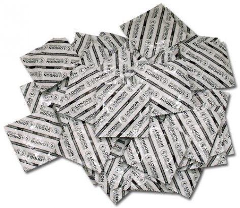afbeelding 100 Extra grote condooms
