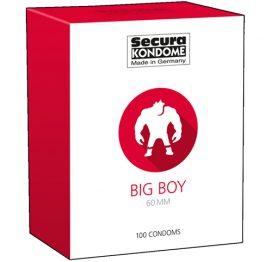 afbeelding Big Boy Condoms - 100 Stuks