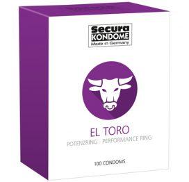 afbeelding Secura El Toro Condooms - 100 Stuks