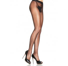afbeelding Basic Panty - Zwart