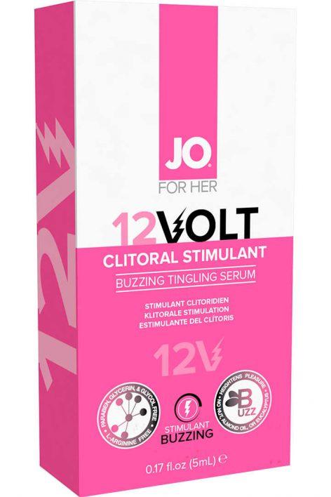 afbeelding 12 Volt clitoris stimulant 5 ml