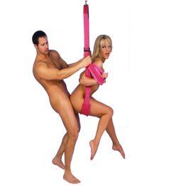 afbeelding Fantasy Swing Seksschommel - Roze