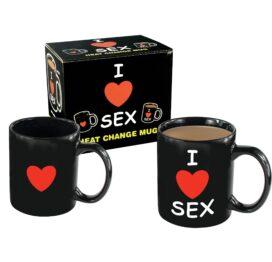 afbeelding I Love Sex Beker