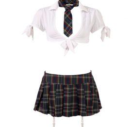 afbeelding Schoolmeisjes Uniform