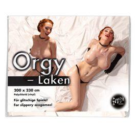 afbeelding Vinyl Lak Laken - Wit