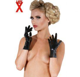 afbeelding Korte Sexy Handschoenen Uit The Latex Collection
