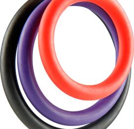 afbeelding 3 Flexibele ToyJoy cockringen