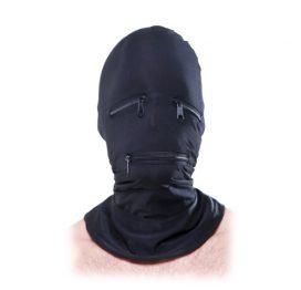 afbeelding BDSM Masker Met Ritsen