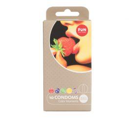 afbeelding Color Moments Smaakjes Condooms Mix - 10 Stuks