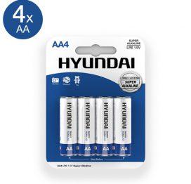 afbeelding Super Alkaline AA-Batterijen - 4 Stuks