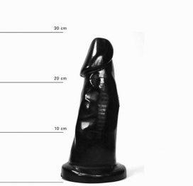 afbeelding All Black Dildo 29 cm