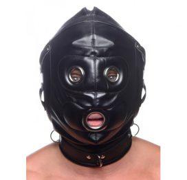 afbeelding Bondage Masker Met Penis Gag