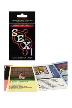 afbeelding Avontuurlijke sex! kaartspel