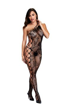 afbeelding Baci Off The Shoulder bodystocking (Maat: One Size)