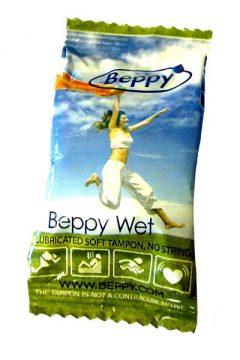 afbeelding Beppy Wet Soft-Comfort Tampons (Inhoud: 4 stuks)