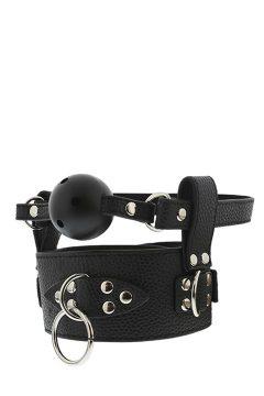afbeelding Blaze ball gag met halsband