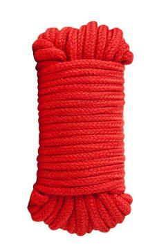 afbeelding Bondage 10 meter touw (Kleur: Rood)