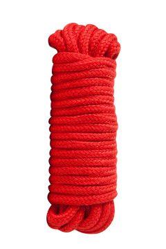 afbeelding Bondage touw van 5 meter (Kleur: Rood)