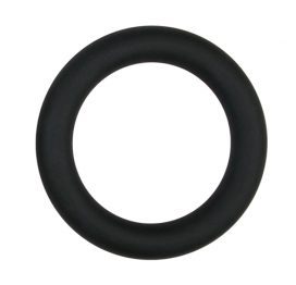 afbeelding Easytoys Siliconen Cockring Large - Zwart