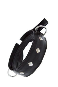 afbeelding GP halsband met studs (Grote studs)