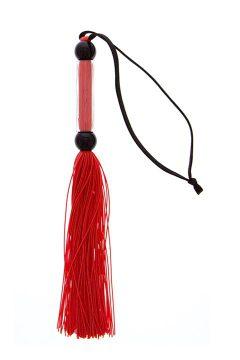 afbeelding GP siliconen zweep (Kleur: Rood)