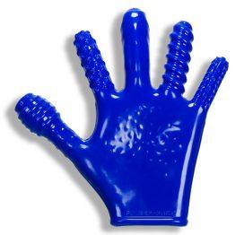 afbeelding Finger Fuck Handschoen - Blauw
