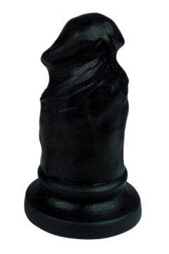 afbeelding Plug & Joy penis anaalplug (Kleur: Zwart)