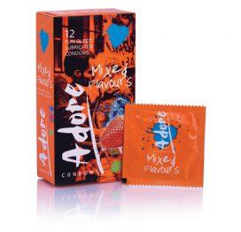 afbeelding Adore Flavours Condooms - 12 Stuks