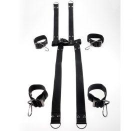 afbeelding Command Hogtie & Halsband Set
