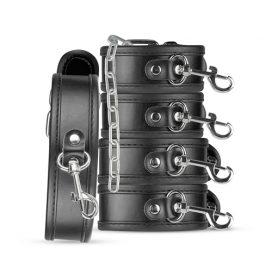 afbeelding Bruno Beginners Bondage Set - Zwart