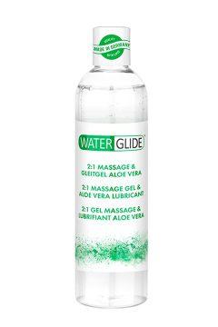 afbeelding Waterglide 2-in-1 massagegel (Geur: Aloë Vera)