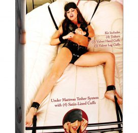 afbeelding Bed bindings restraint bondage kit