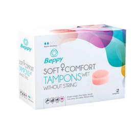 afbeelding Beppy Soft + Comfort tampons WET (2 stuks)