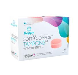 afbeelding Beppy Soft + Comfort Tampons WET (8 stuks)