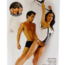 afbeelding Bondage set Door Jam Cuffs
