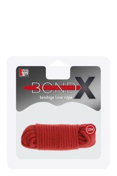afbeelding BondX liefdes touw (10 m) (Kleur: Rood)