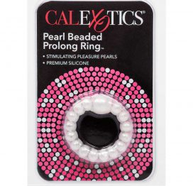 afbeelding Cockring Pearl Beaded Prolong Ring