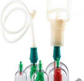 afbeelding Cupping vacuum set