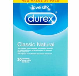 afbeelding Durex Classic Natural 20 stuks