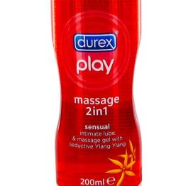afbeelding Durex Massagel Play 2 in 1 Sensual 200 Ml