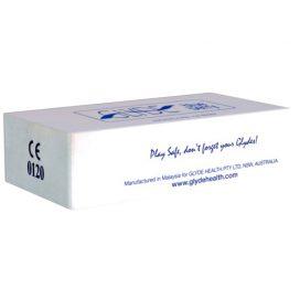 afbeelding Glyde Ultra Blauwe Bes- 100 Condooms