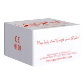afbeelding Glyde Ultra Slimfit Rood - 100 Condooms