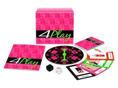 afbeelding 4 Play! Bordspel met 4 verschillende spellen