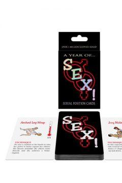 afbeelding A year of SEX! kaartspel