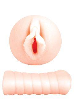 afbeelding Gladde vagina to-go masturbator