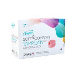 afbeelding Beppy Wet Soft-Comfort Tampons (8 stuks)