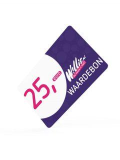 afbeelding Willie kadokaart 25 euro