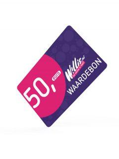 afbeelding Willie kadokaart 50 euro