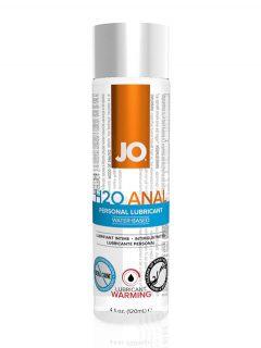 afbeelding JO H2O Anaal verwarmende glijmiddel (Inhoud: 120 ml)