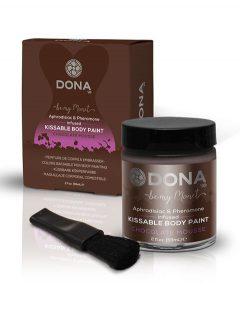 afbeelding Dona kissable body paint (Smaak: Chocola)